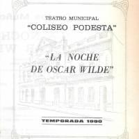 """""""La noche de Oscar Wilde"""""""