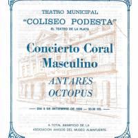 """""""Concierto Coral Masculino"""""""