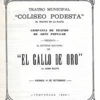 """""""El Gallo de Oro"""""""
