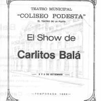 """""""El show de Carlitos Bala"""""""