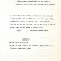 """""""Teatro y Canto"""""""