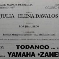 Julia Elena Davalos y Los Jilgueros