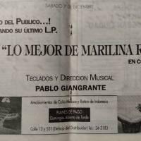 """""""Lo mejor de Marilina Ross en concierto"""""""