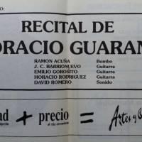 Recital de Horacio Guarany