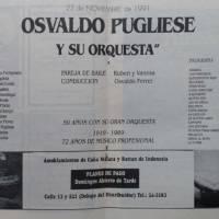 """Osvaldo Pugliese y su orquesta"""