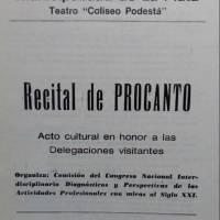 Acto cultural en honor a las Delegaciones visitantes