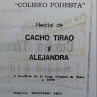 Cacho Tirao y Alejandra