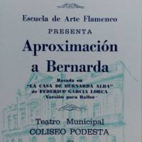 "Funcion de Gala: ""Aproximacion a Bernarda"""