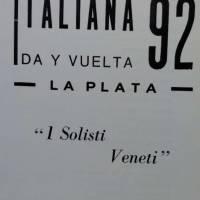 """""""Italiana 92 - Ida y vuelta"""""""