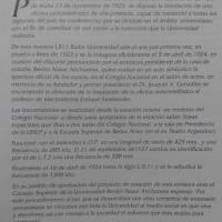 70º Aniversario Radio Universidad
