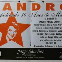 """""""Sandro - 30 años"""""""