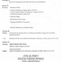 174º Aniversario de la Independencia del Perú