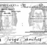 """""""Mariana Pineda de Federico García Lorca"""""""