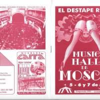 """El Destape Ruso"" - Music Hall de Moscu"