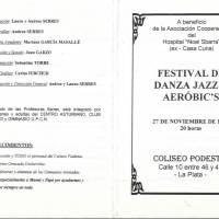 """""""Festival de Danza Jazz y Aerobic´s"""""""