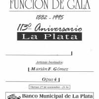 Función de Gala -113ºAniversario La Plata