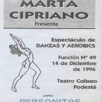Espectáculo de danzas y aerobics