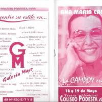 """""""La Campoy en vivo"""""""