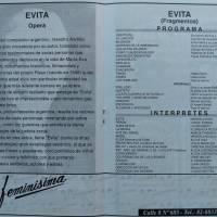"""""""Evita Opera Argentina"""""""