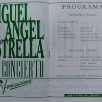 """""""Miguel Angel Estrella …en concierto"""""""