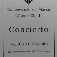 Concierto Musica de camara