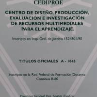 Entrega de Diplomas Curso El Docente y alfabetizacion
