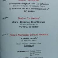 1º Festival Nacional de Investigacion Teatral