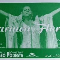 Carmen Flores, en concierto