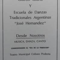 """""""Desde nosotros"""" - Día de la Tradicion"""
