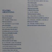 Funcion de Gala - 115º aniversario de La Plata