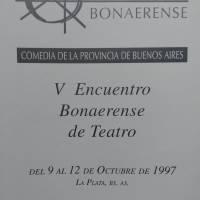 V Encuentro Bonaerense de Teatro
