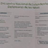 II Encuentro de Intendentes Defensores de los niños