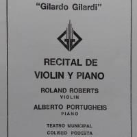 Recital de Violin y Piano