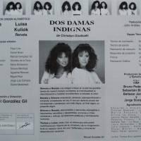 Dos damas Indignas