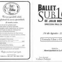 Ballet sub16 de Julio Boca