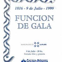 Funcion de Gala- 9 de Julio