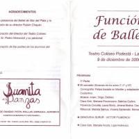 Funcion de Ballet