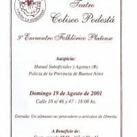 9º Encuentro Folcklórico Platense