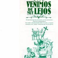 """""""Venimos de muy lejos""""-Ciclo Cultural del Teatro 2002"""