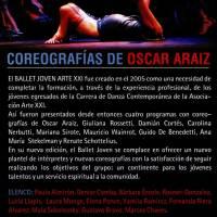 Ballet Conteporáneo de Oscar Araiz