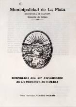 25 Aniversario de Orquesta de Cámara Municipal