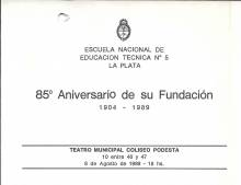 85º Aniversario Escuela Técnica Nº5