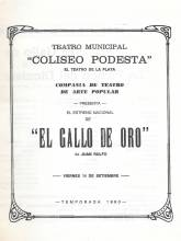 """El Gallo de Oro"""