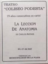 """""""La Lección de Anatomía"""""""