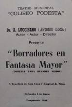 """Borradores en Fantasia Mayor"""