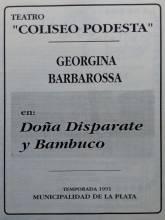 """""""Doña Disparate y Bambuco"""""""