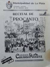 Recital de Procanto