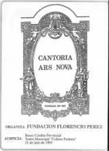 Cantoria Ars Nova