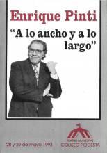 """""""A lo ancho y a lo largo"""""""