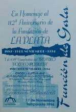 Gala Aniversario de la ciudad y del teatro
